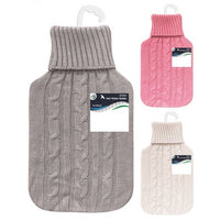 Buy wholesale 2litre hot water bottle & knitted cover Supplier UK