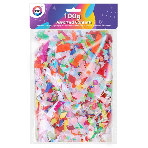 Buy wholesale 100g assorted confetti Supplier UK