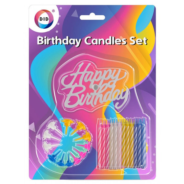 Buy wholesale Birthday candles set Supplier UK