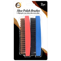 Buy wholesale 2pc shoe polish brushes Supplier UK