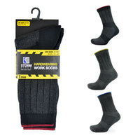 Mens Single Pack Work Socks 1pp