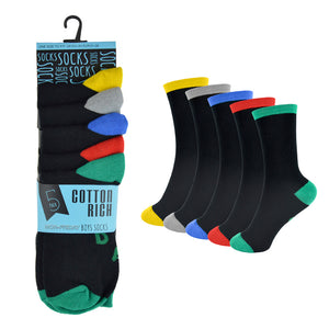 Kids Week Day Socks (5 Pack)