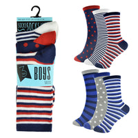 Boys Design Socks (3 Pack)