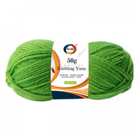 50g knitting yarn-light green