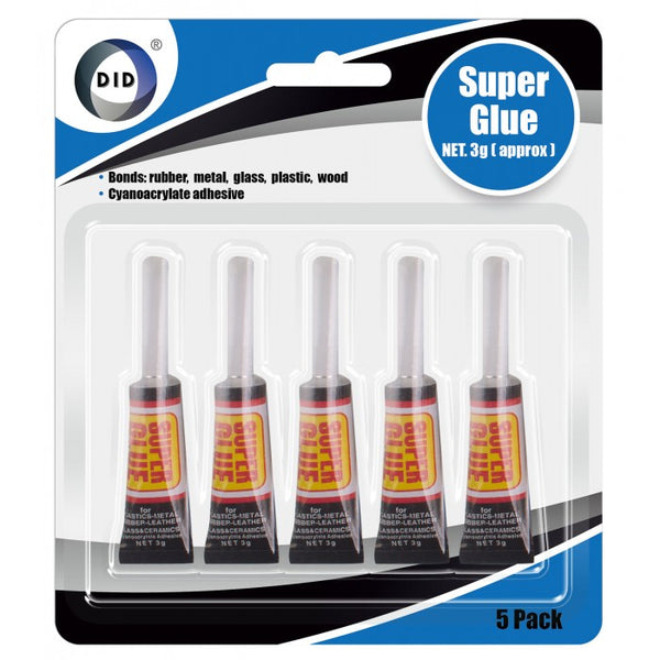 Buy wholesale 5pc super glue Supplier UK