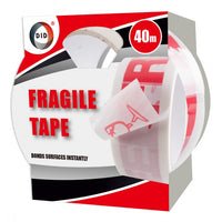 Buy wholesale 50mm x 40m fragile tape Supplier UK
