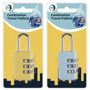 Buy wholesale Combination travel padlock Supplier UK
