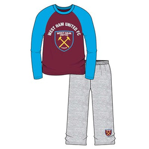 Boys West Ham Long Sleeve Pyjama Set