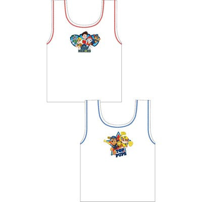 Boys Cartoon Character Paw Patrol Vests (2 Pack)