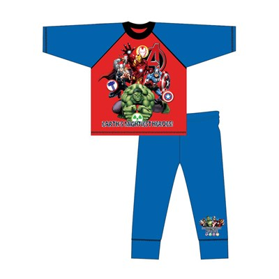 Boys Avengers Long Sleeve Pyjama Set