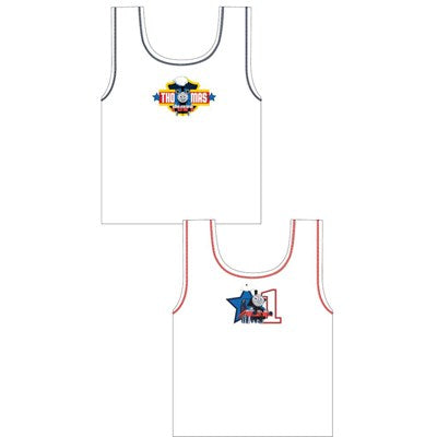 Boys Cartoon Character Thomas the Tank Engine Vests (2 Pack)