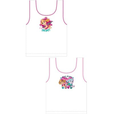 Girls Cartoon Character Paw Patrol Vests (2 Pack)