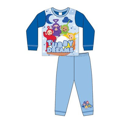 Boys Toddler Teletubbies Sub Long Sleeve Pyjama Set