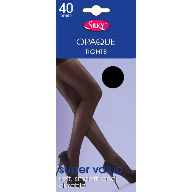 Ladies Opaque Value Tights 40 Denier