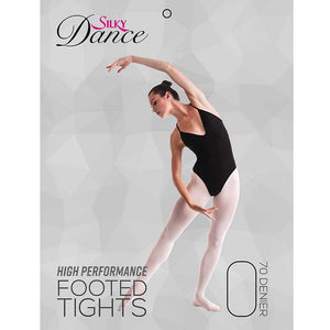Ladies High Performance Footed Ballet Tights - Adults
