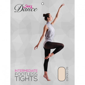 Ladies Dance Footless Tights - Adults 60 Denier