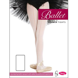 Ladies Dance Ballet Seamed Tights - Adults