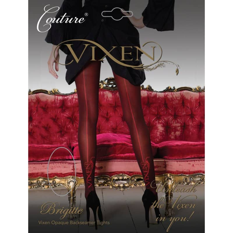 Vixen Brigitte Opaque Seamed Tights