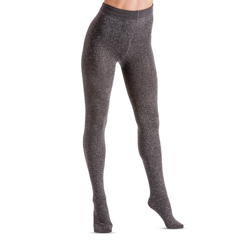 Ladies Fashion Lurex Fleece Tights 200 Denier