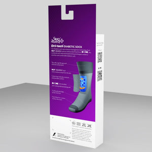 Ladies Health Diabetic Sock 1pp