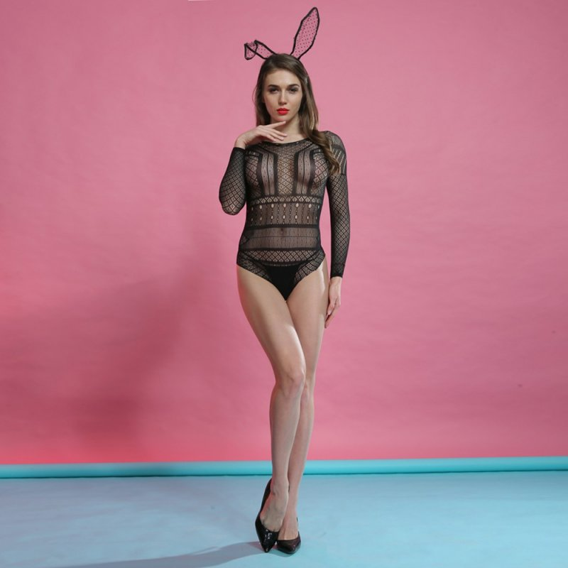 Ladies The Rose - Cindylove Body Stocking