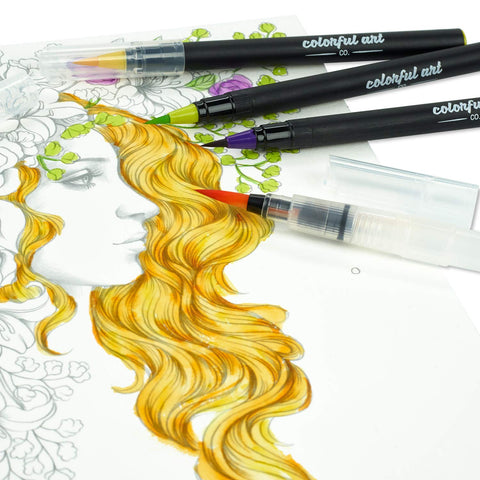 Image of Watercolour Brush Pens