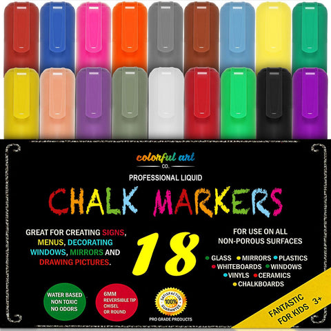 Image of Chalk Pens And Markers