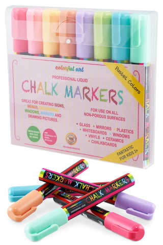 Vintage Pastel Colour Chalk Pens