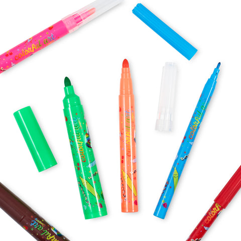 Fruity Scented Fun Pens and Carry Case