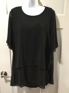 Black Sheer T-Shirt