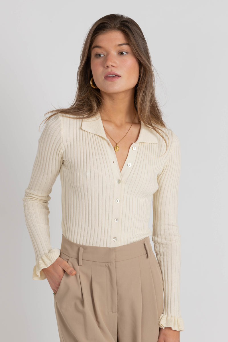 Mia Top - Cream