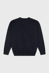 Art Sweater - Navy
