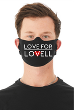 Load image into Gallery viewer, Love For Lovell/Hey Face Covering