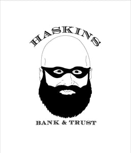 """Haskin Banks"" Sticker 3""x3"" - DentoneShirts"