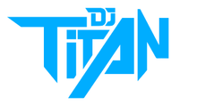 Load image into Gallery viewer, DJ TITAN Logo Blue