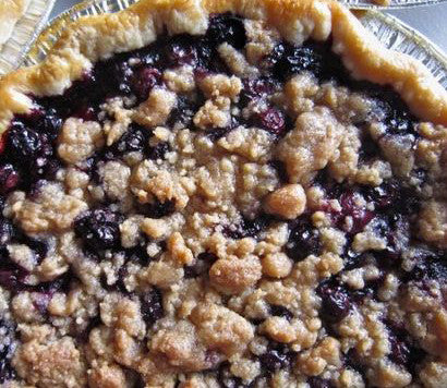 "Two Person (6"") Blueberry Crumble Pie from Whisked!"