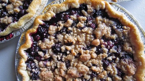 "Two Person (6"") Blueberry Crumble Pie from Whisked! FALSE"