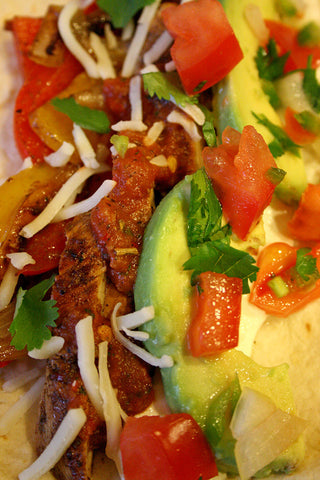 Chicken & Steak Fajitas w/ all the Fixins & scratchDC Salsa!