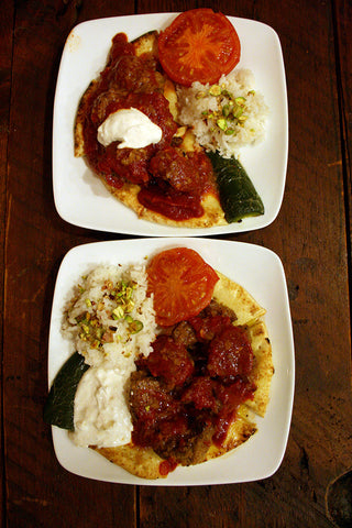 The scratchDC Iskender Kabob & Turkish Fixins