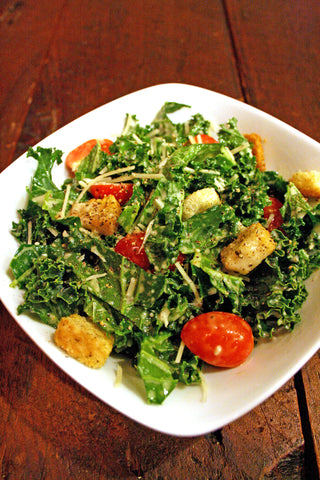 """The Gus"" Kale Caesar Side Salad for Two!"