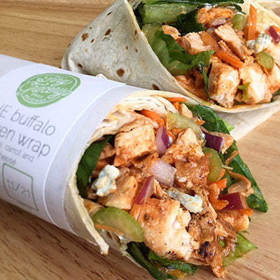 THE Buffalo Chicken Wrap