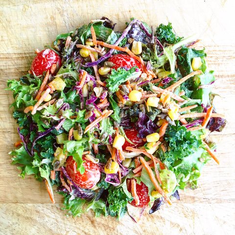 Week of August 29th - NEW Late Summer Side Salad w/ a Chipotle Ranch