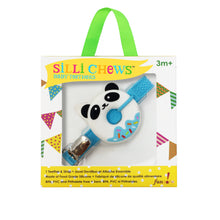 Load image into Gallery viewer, MINI BLUE PANDA DONUT TEETHER AND STRAP