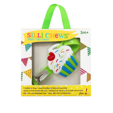 Load image into Gallery viewer, MINI CUPCAKE TEETHER AND STRAP