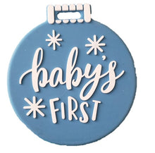 Load image into Gallery viewer, BABY'S FIRST ORNAMENT TEETHER