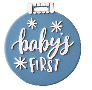 BABY'S FIRST ORNAMENT TEETHER