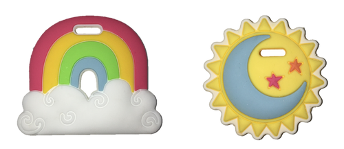 SILLI RAINBOW & SUN 2PC MINI TEETHER SETS