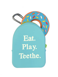 TEETHER TOTE BLUE