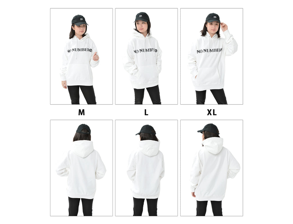 NO NUMBERS LOGO Parka