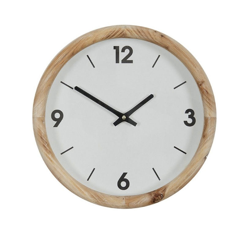 Alma Wooden Clock